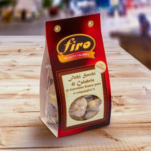 Dried figs with nuts glazed with white chocolate 250 g