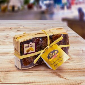 Basket of baked dried figs