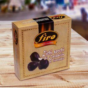Dried figs with almond glazed with dark chocolate 500 g